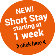 NEW! Short Stay starting at 1 week